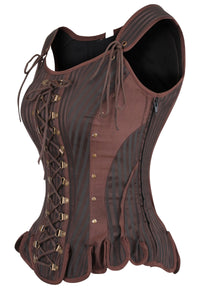 Medieval Inspired Steampunk LARP Corset