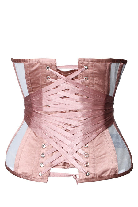 Honey Rose Longline Mesh Underbust Corset