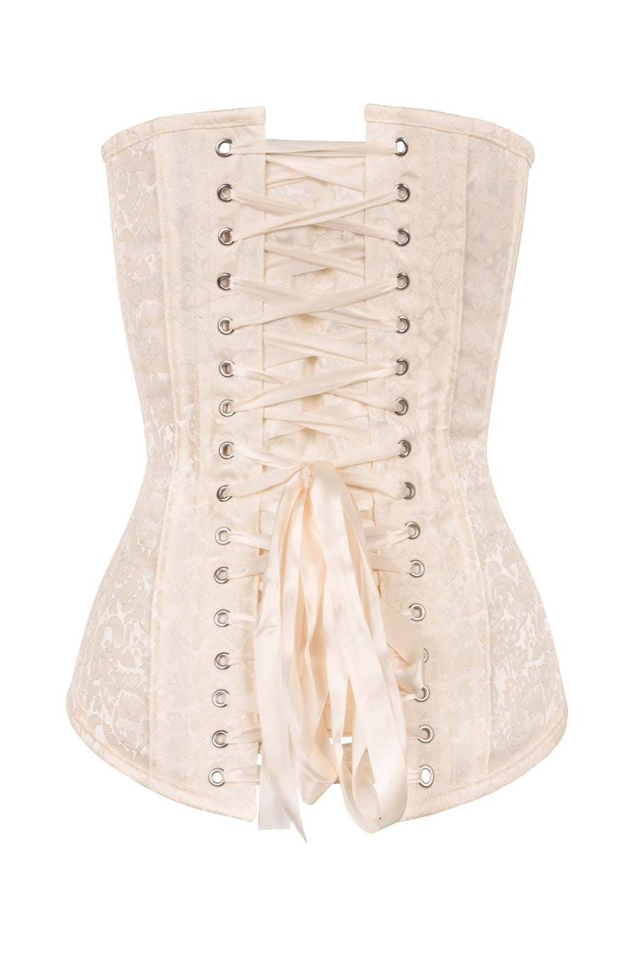 Health Care Hard-Working Ivory Overbust Corset