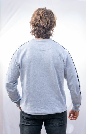 Relaxed fit Signature Grey Sweatshirt