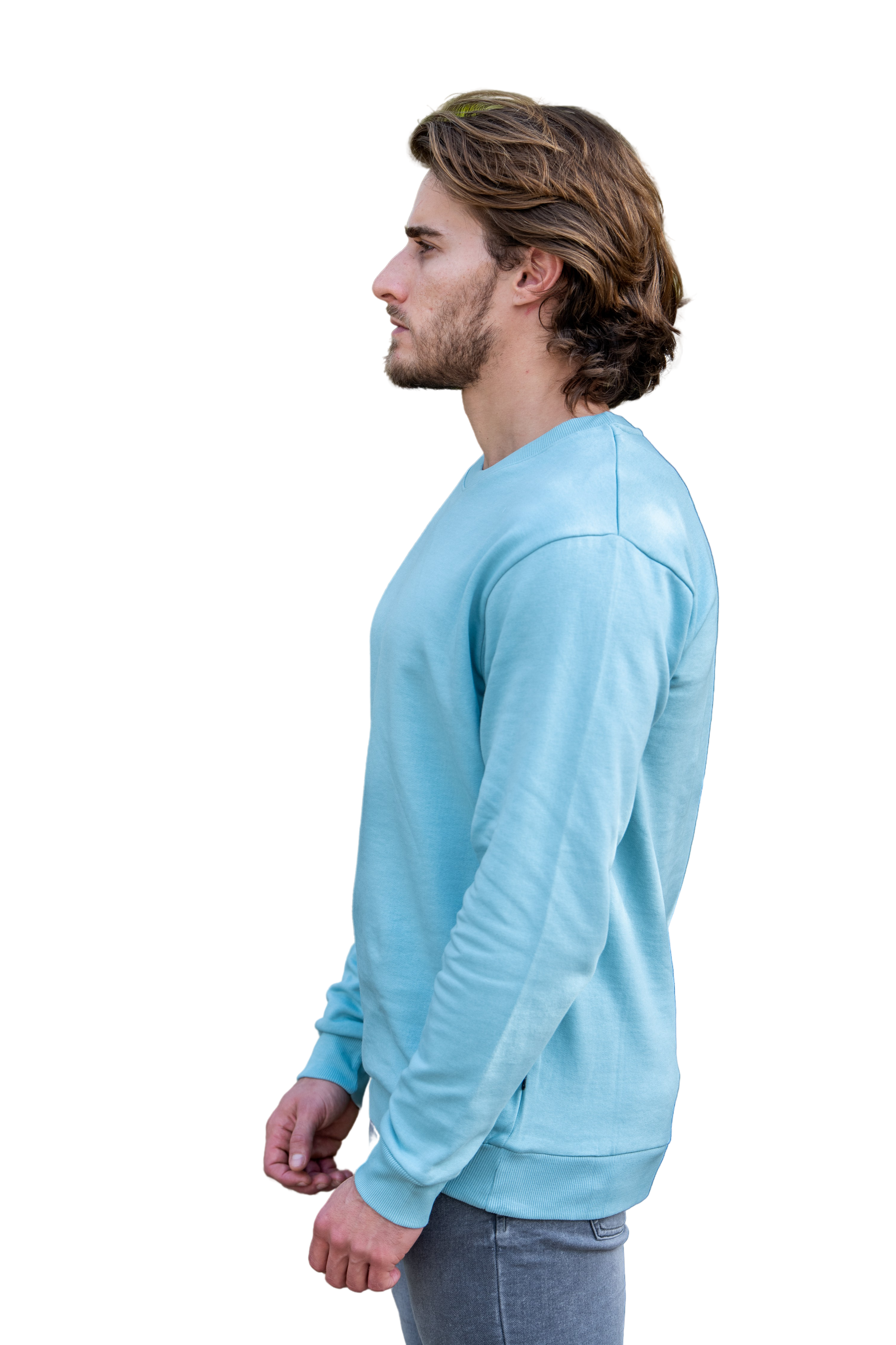 Relaxed fit Signature Ice Blue Sweatshirt