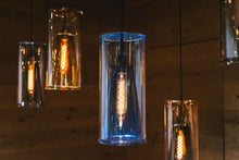 Glass Light Azul