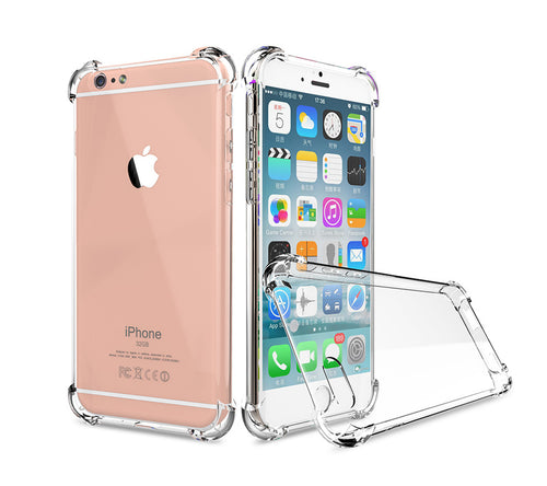 Transparent Silicon Phone Case For iPhone