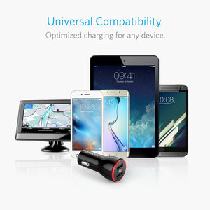 Anker PowerDrive 2 USB Car Charger Adapter