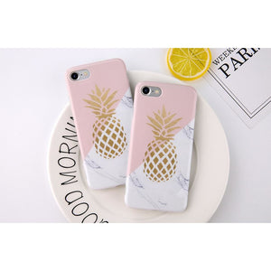 Pineapple Marble Phone Case