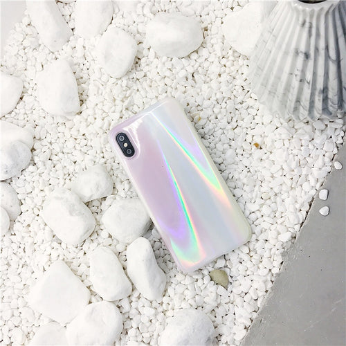 Aurora Glossy Phone Case For iPhone