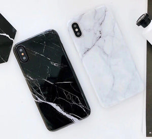 Marble Phone Case For iPhone 7, 8, X, Xs, Xs Max, Xr