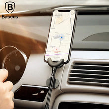 Baseus 360 Degree Car Phone Holder & Charging Cable For iPhone