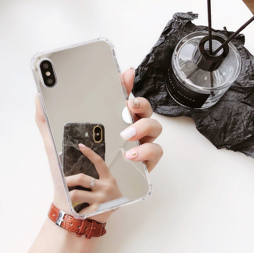Luxury Mirror Phone Case For iPhone