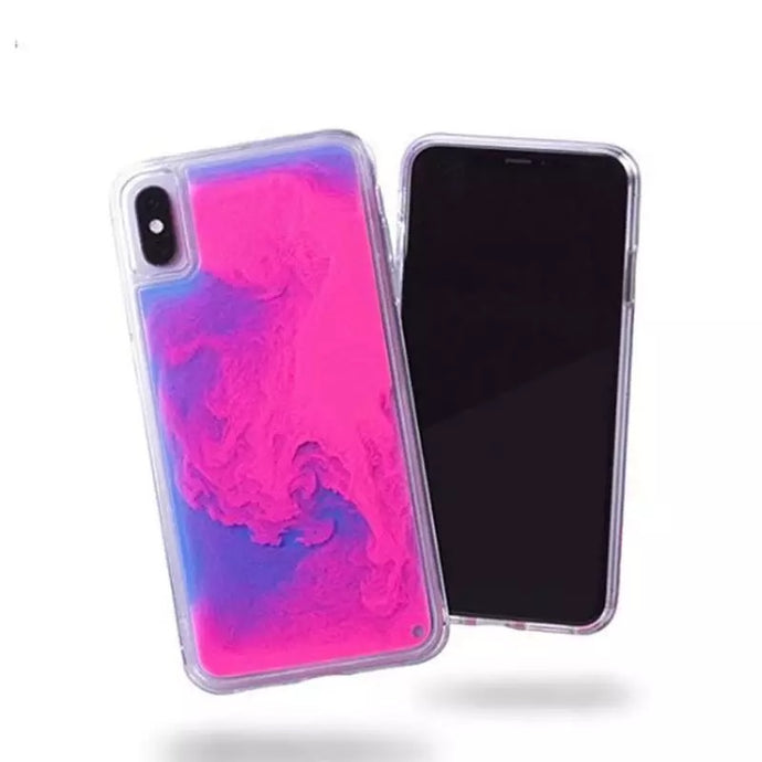 Dynamic Quicksand Liquid Phone Case For iPhone