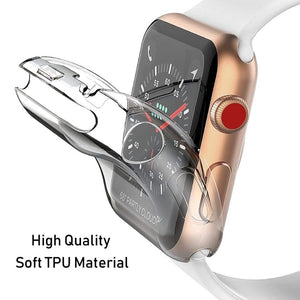 Transparent Soft Cover for Apple Watch