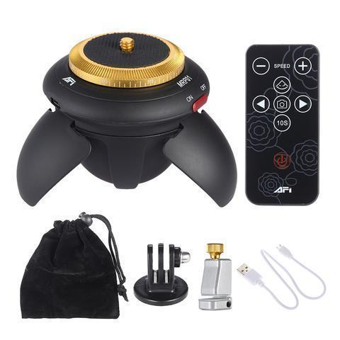 360 Electric Panorama Ball Head Electronics, Fun, Gadget, new, portable, Travel Trending Vip