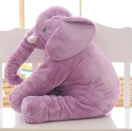 Cheapest and Best Reviews for Baby Elephant Pillow Plush Cushion Purple at trendingvip.com