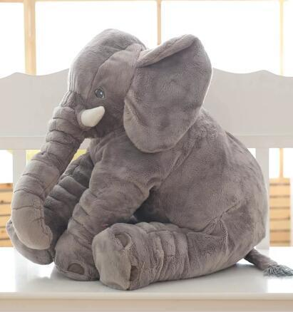 Cheapest and Best Reviews for Baby Elephant Pillow Plush Cushion Grey at trendingvip.com