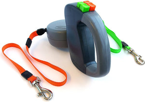 Cheapest and Best Reviews for Dual Retractable Dog Leash  at trendingvip.com