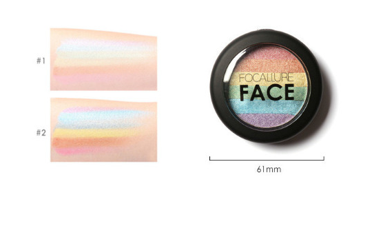 Cheapest and Best Reviews for Rainbow Shimmer Pressed Powder  at trendingvip.com
