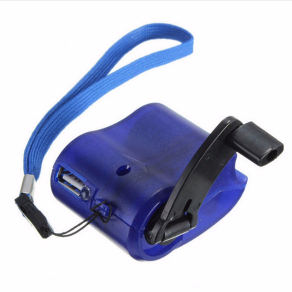 Cheapest and Best Reviews for Universal Portable Emergency Hand Power USB Charger Blue at trendingvip.com
