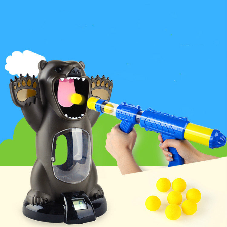 Cheapest and Best Reviews for Hungry Bear Electronic Shooting Game  at trendingvip.com