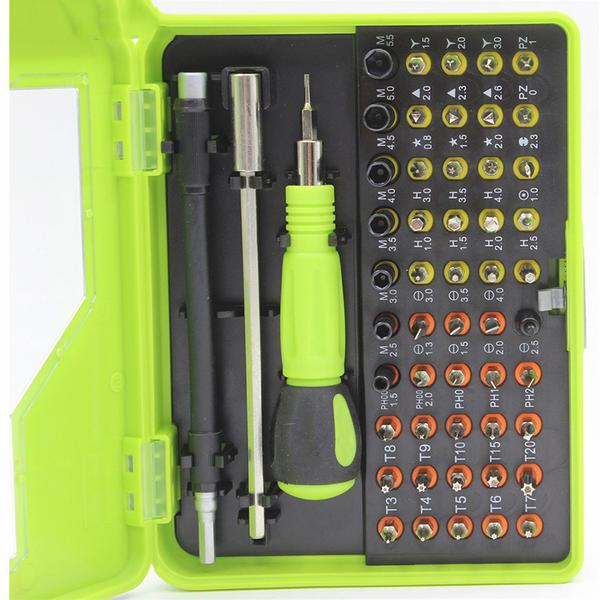 Cheapest and Best Reviews for 53 In 1 Precision Magnetic Screwdriver Sets  at trendingvip.com