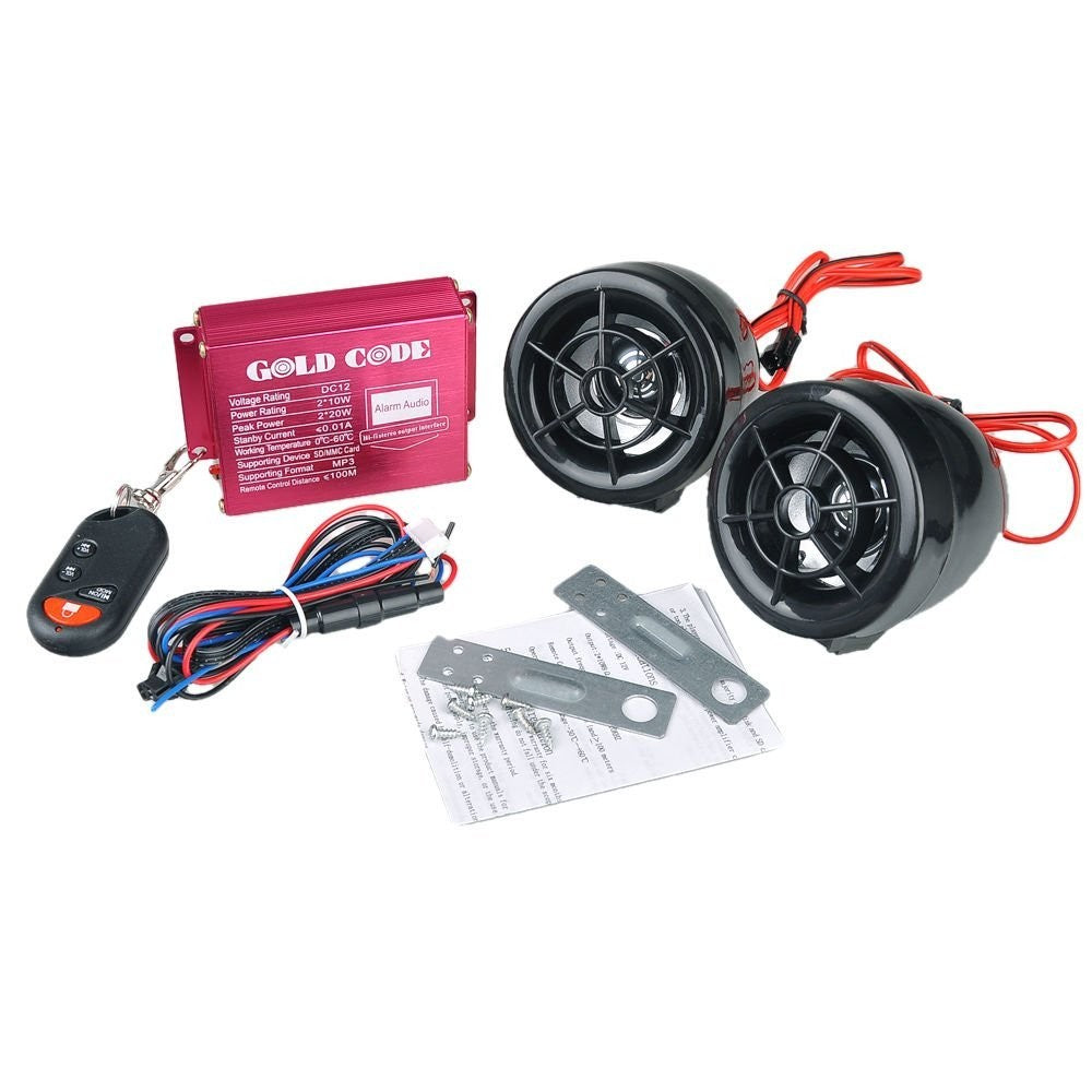 Cheapest and Best Reviews for Motorbike Remote Sound Alarm  at trendingvip.com