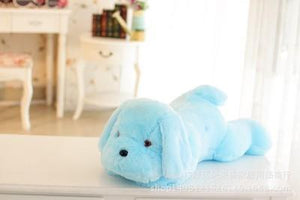 Cheapest and Best Reviews for Adorable Luminous Plush Puppy Blue at trendingvip.com