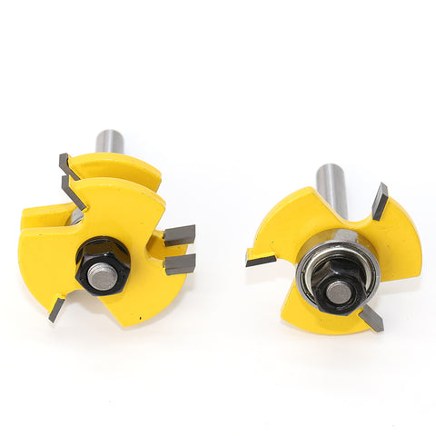 Cheapest and Best Reviews for 2 Bit Tongue and Groove Router Bit Set  at trendingvip.com