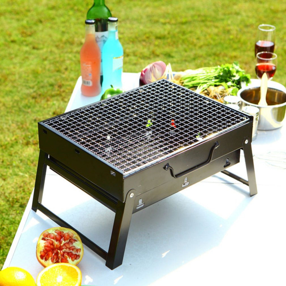 Portable BBQ Grill Suitcase Fun, Grill Suitcase, Home, Kitchen, Portable,  Portable