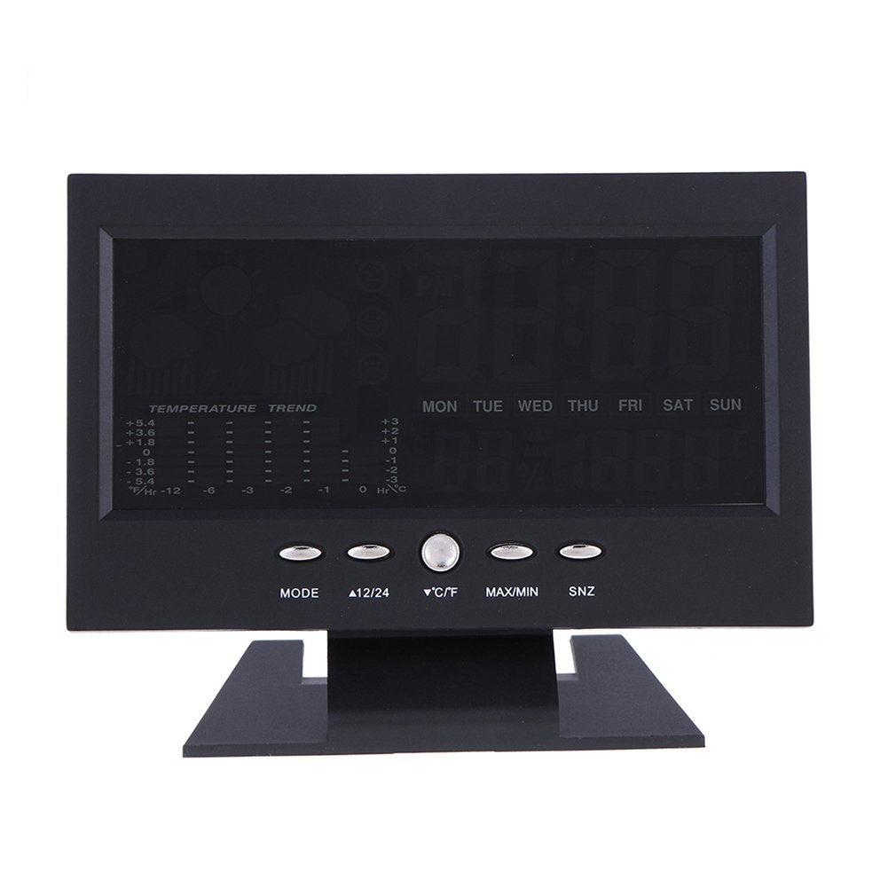 Cheapest and Best Reviews for Digital Weather Station Clock  at trendingvip.com