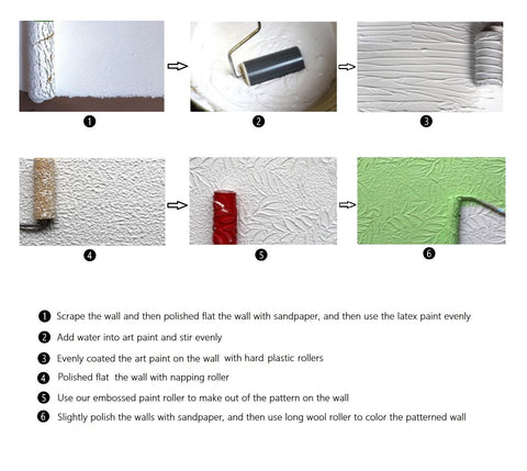 Cheapest and Best Reviews for DIY Pattern Paint Rollers  at trendingvip.com