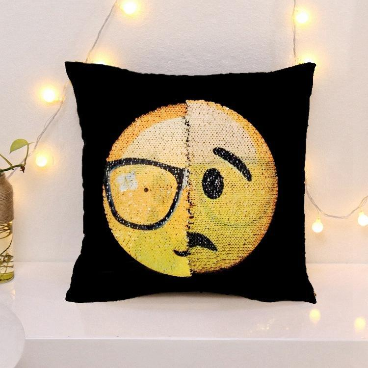 Cheapest and Best Reviews for Changing Face Emoji (Cushion Cover) Proud Wronged at trendingvip.com