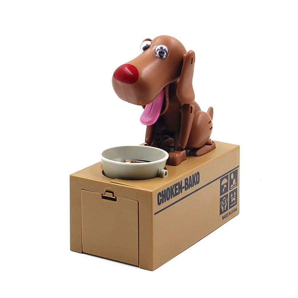 Cheapest and Best Reviews for Dog Coin Bank Brown at trendingvip.com