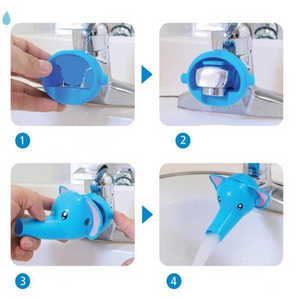 Cheapest and Best Reviews for Cartoon Adjustable Faucet Extender  at trendingvip.com