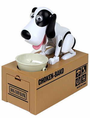 Cheapest and Best Reviews for Dog Coin Bank White with Black at trendingvip.com