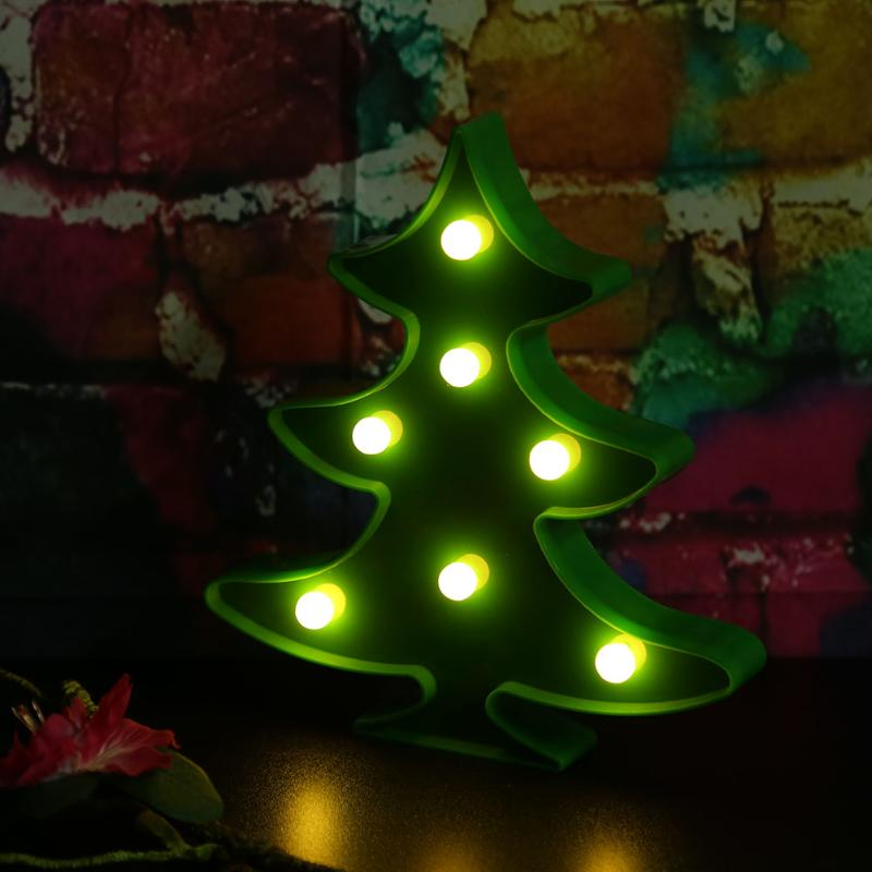 Cheapest and Best Reviews for 3D LED Table Decoration Lamp Christmas Tree at trendingvip.com