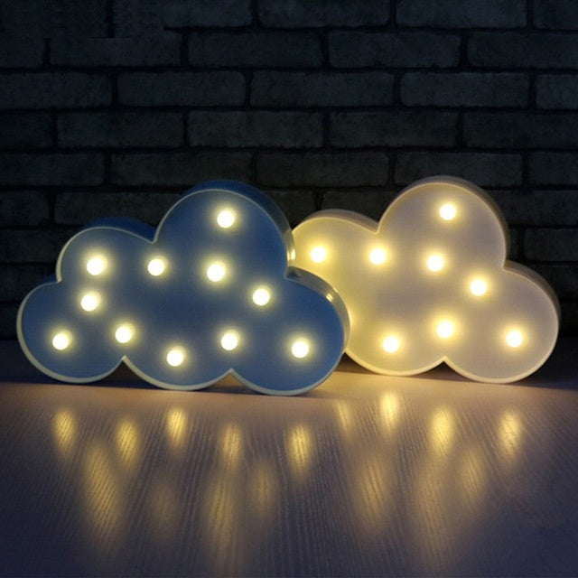 Cheapest and Best Reviews for 3D LED Table Decoration Lamp Cloud at trendingvip.com