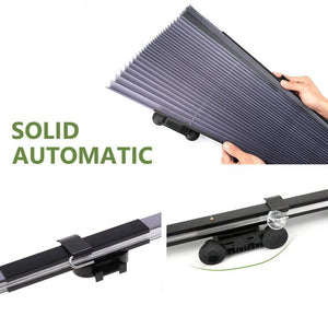 Car Retractable Curtain With UV Protection