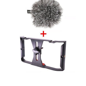 Cheapest and Best Reviews for Handheld Smartphone Rig Rig + Boom Mic at trendingvip.com