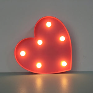 Cheapest and Best Reviews for 3D LED Table Decoration Lamp Heart at trendingvip.com