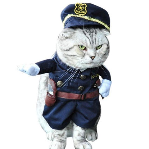 Cheapest and Best Reviews for Halloween Clothes Cat/Dog M / Sherriff at trendingvip.com