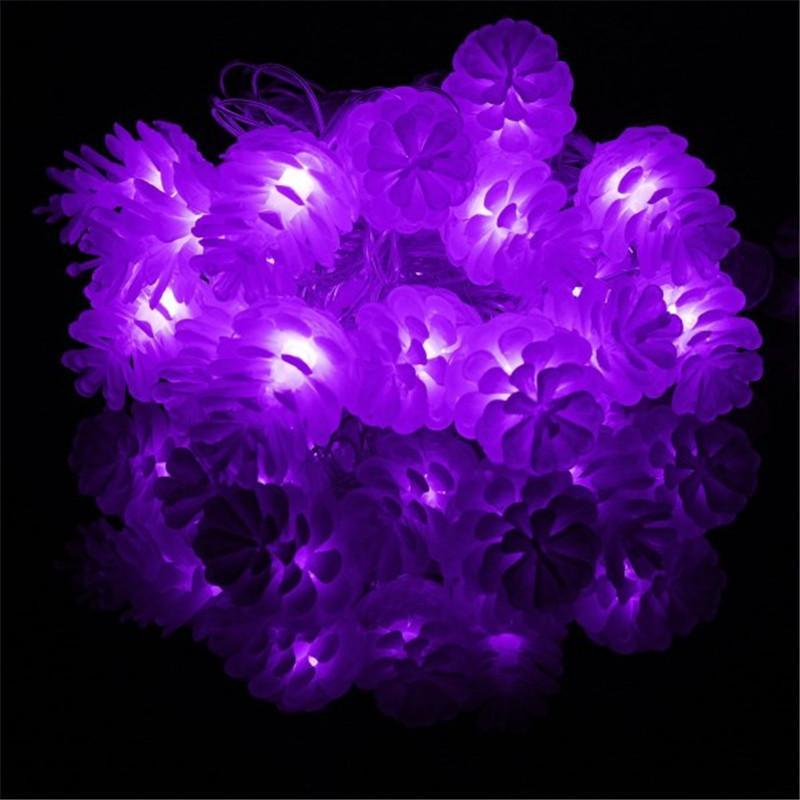 Cheapest and Best Reviews for 4M LED String Pine Cones  at trendingvip.com