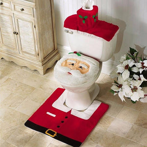 Cheapest and Best Reviews for Christmas Toilet Seat Carpet Bathroom  Decorations Christmas Red at trendingvip.com