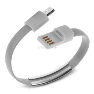 Cheapest and Best Reviews for Bracelet USB Charger Cable Samsung / Grey at trendingvip.com