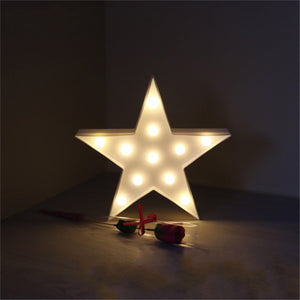 Cheapest and Best Reviews for 3D LED Table Decoration Lamp Star at trendingvip.com