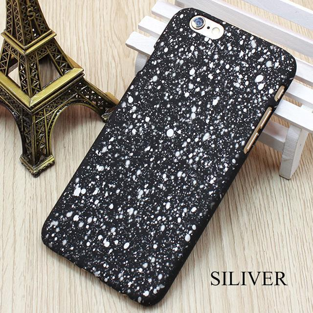 Cheapest and Best Reviews for 3D Stars Phone Case iPhone 6 / Silver at trendingvip.com