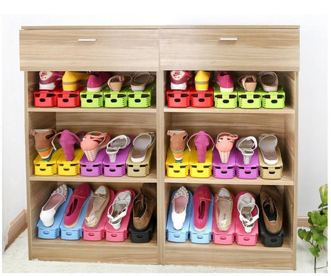 cheapest and best reviews for japan space saver double deck shoes rack at trendingvipcom - Shoes Organizer