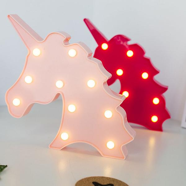 Cheapest and Best Reviews for 3D LED Table Decoration Lamp Unicorn at trendingvip.com