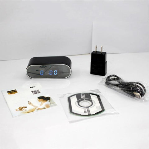 Cheapest and Best Reviews for Alarm Clock With Hidden HD Camera WiFi  at trendingvip.com