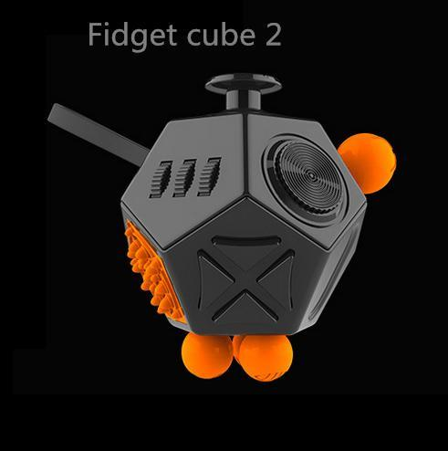 12 Sided Anti-Stress Fidget Cube Ver II Fun, Toys & Hobbies Trending Vip