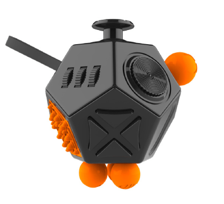 Cheapest and Best Reviews for 12 Sided Anti-Stress Fidget Cube Ver II Black at trendingvip.com