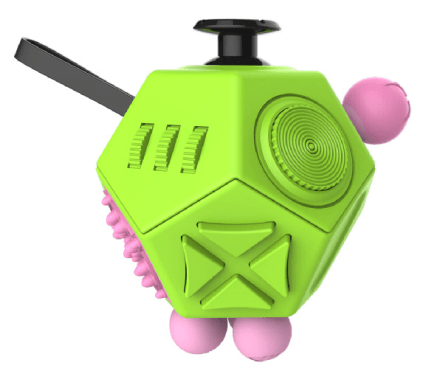 Cheapest and Best Reviews for 12 Sided Anti-Stress Fidget Cube Ver II Green at trendingvip.com
